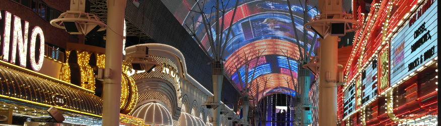 Fremont Street in Downtown