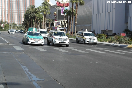 Taxis in Las Vegas
